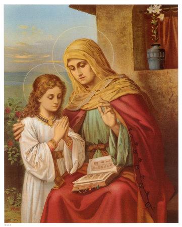 Risultati immagini per S. Anna madre di Maria